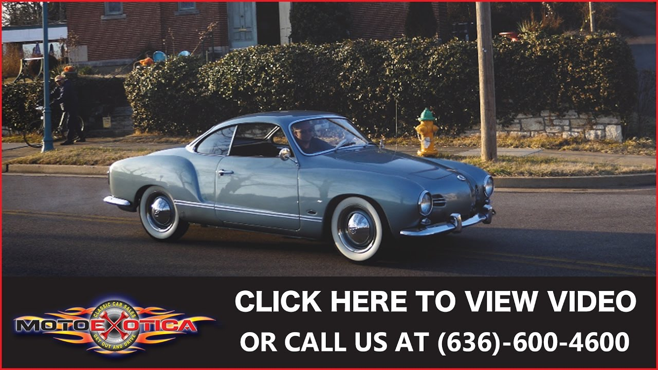 1957 volkswagen karmann ghia lowlight for sale