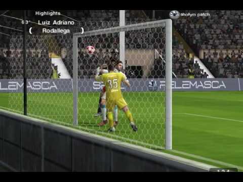 Fc Fulham vs FC Zenit St. Petersburg PES 2017 PES 6