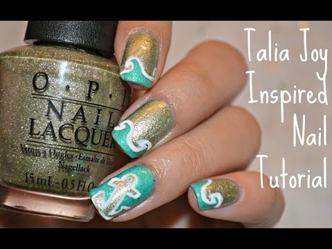 Talia Joy Inspired Nail Tutorial