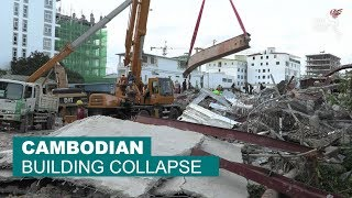 Cambodian building collapse