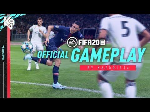 FIFA 20 Gameplay PSG vs Real Madrid w/ New Skill Moves