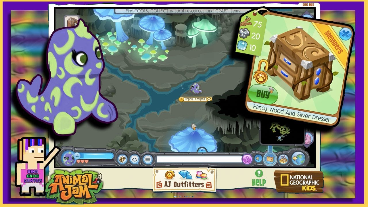 Grahams workshop animal jam prizes for the search