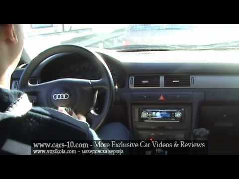 Audi A6 Driving Skopje Autobahn Freeway