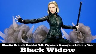 Avengers: Infinity War S.H. Figuarts Black Widow Bluefin Edition Review