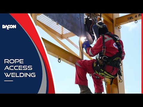 Rope Access Welding - Dacon Training