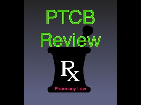 PTCB Pharmacy Law from YouTube · Duration:  5 minutes 26 seconds
