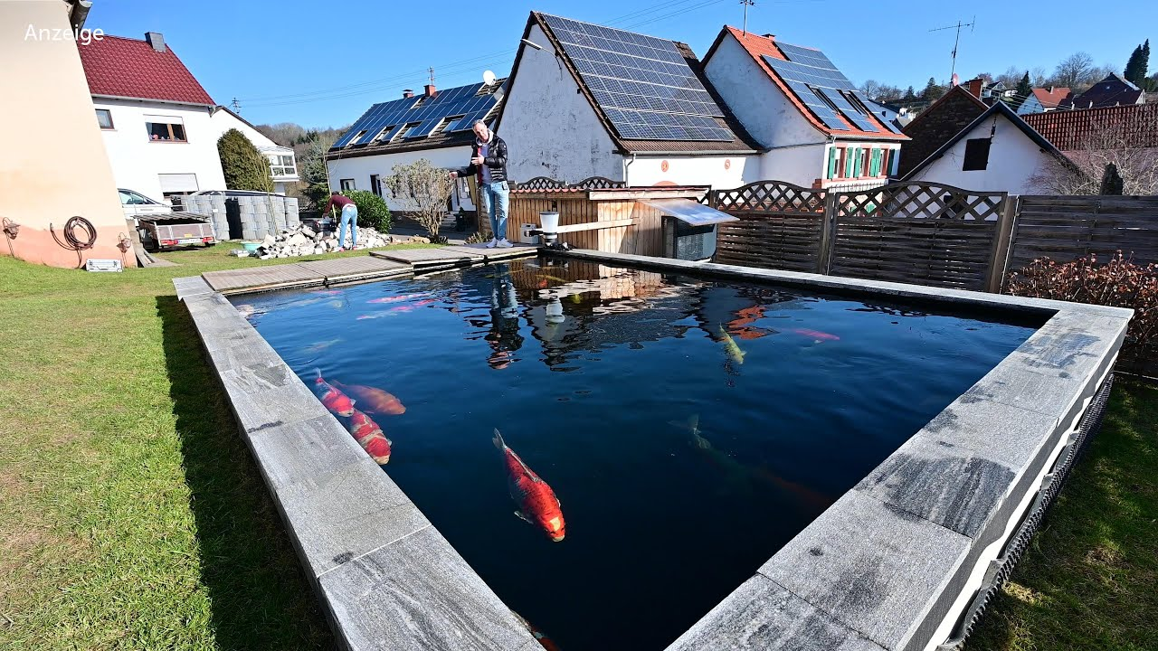 Modern Koi Blog #4312 - Tobias' komplett neu- und umgebauter 48.000 Liter Teich