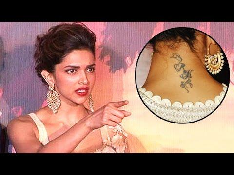 Deepika Padukone Reacts On Ranbir's TATTOO Inked - YouTube