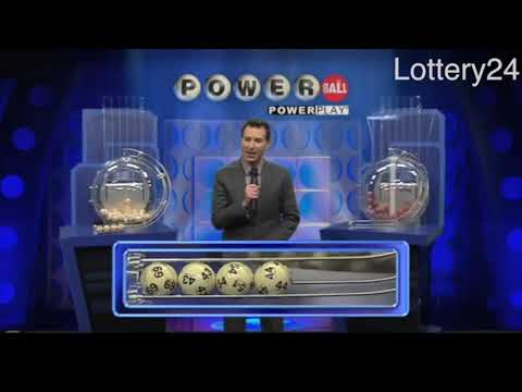 2018 03 10 Powerball Numbers and draw results