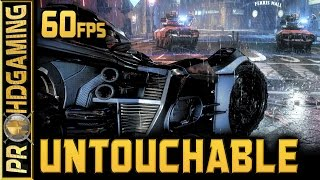Batman: Arkham Knight (PC) - Untouchable - Time 17:45:45 - AR Challenge - 60fps