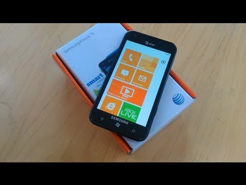 Samsung Focus S Unboxing & First Impressions