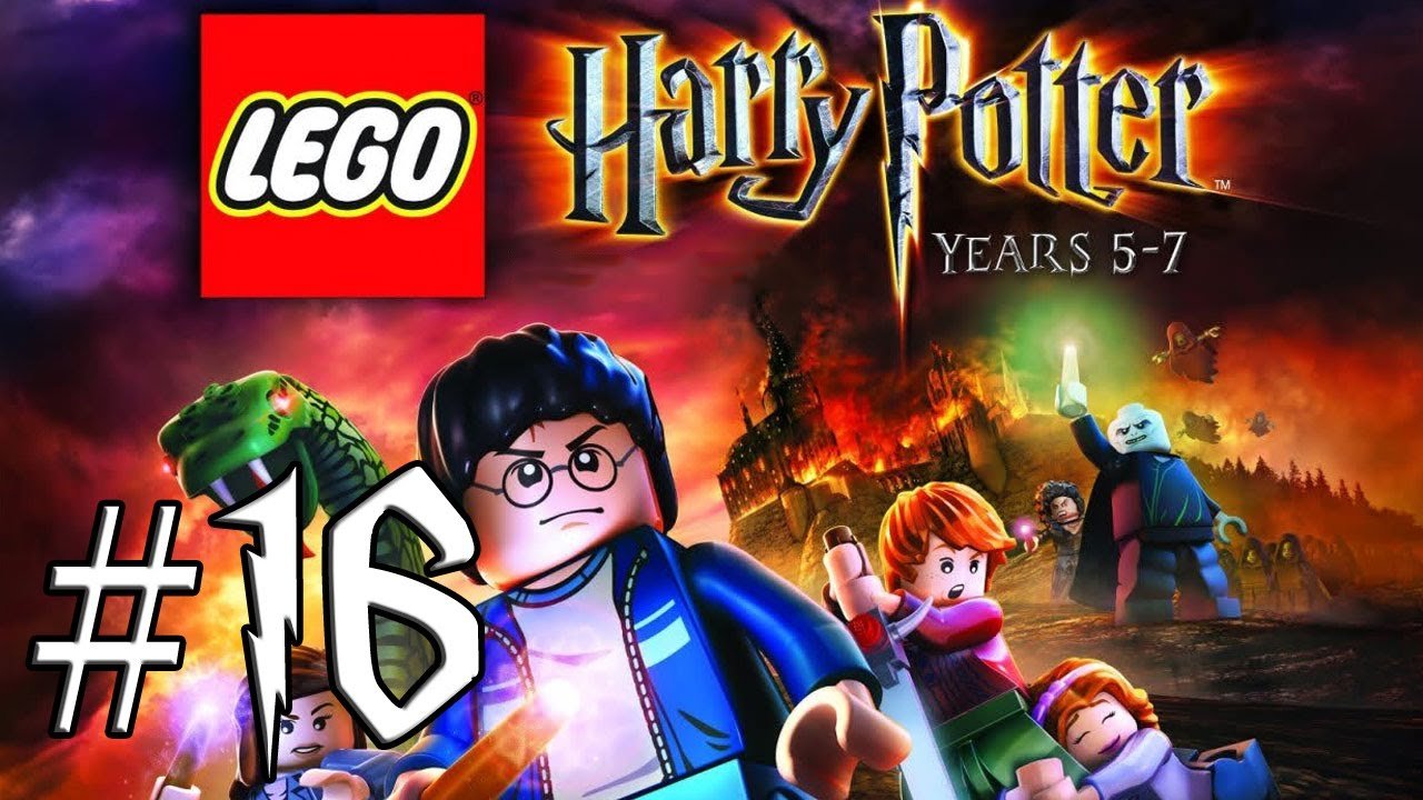 Lets Play 16 Lego Harry Potter Lata 5 7 Jaskinia Youtube