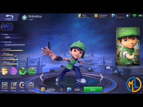 Mobile Legends : Ideas : Boboiboy Leaf