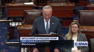 Sen. Chuck Schumer on Impeachment
