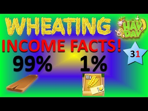 HAY DAY - WHEATING AND CORNING, INCOME FACTS AND STATS!