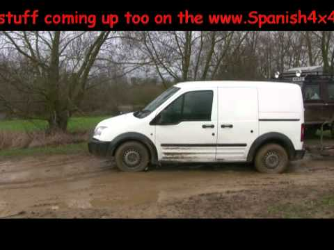 4x4 extreme off roading with some herts 4x4 members a transit connect pt1 youtube. Black Bedroom Furniture Sets. Home Design Ideas
