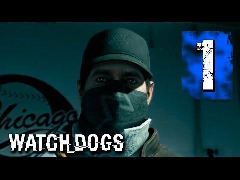 Watch Dogs Walkthrough Part 1 - FIRST HACKS, Stadium Blackout (PS3/XBOX 360/PS4/XBOXONE/WiiU/PC)
