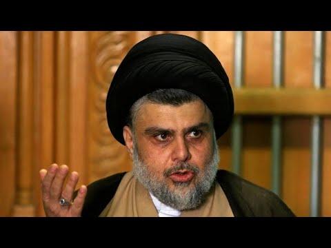 العراق: الزعيم الشيعي مقتدى الصدر يعلن حل مجموعة -القبعات الزرق- المتهمة بقتل متظاهرين  - 08:00-2020 / 2 / 12
