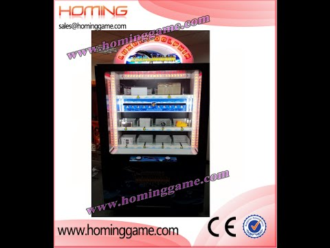 2016 USA Hot sale  Redemption game machine luxury Dolphin  prize game machine(sales@hominggame.com)