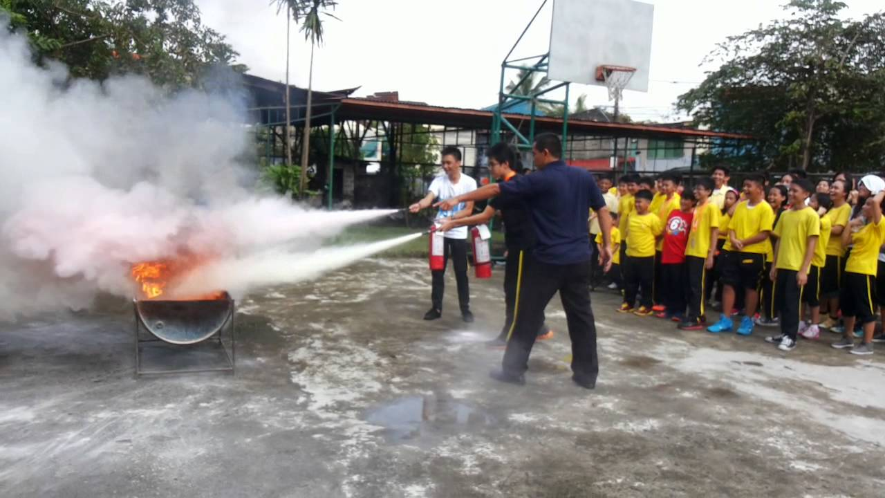 Irvinghall School Fire Drill S.Y. 2014-2015 - lead by Sgt. Dela Torre - Part 2