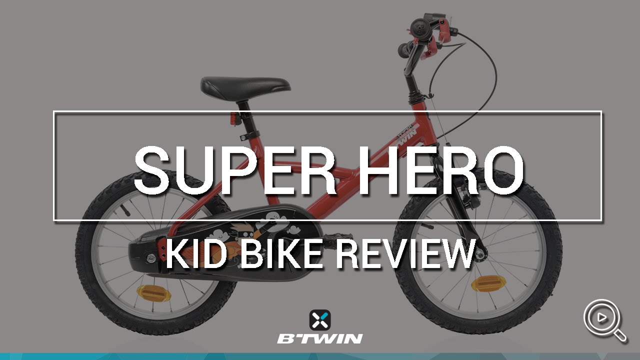 kid bike 16 hyper hero btwin velo enfant 16. Black Bedroom Furniture Sets. Home Design Ideas