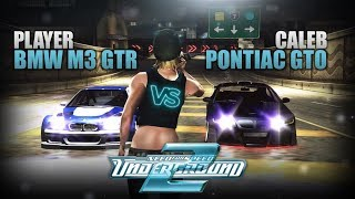 Need for Speed: Underground 2 | BMW M3 GTR vs. PONTIAC GTO (MOD) [HD 60FPS]