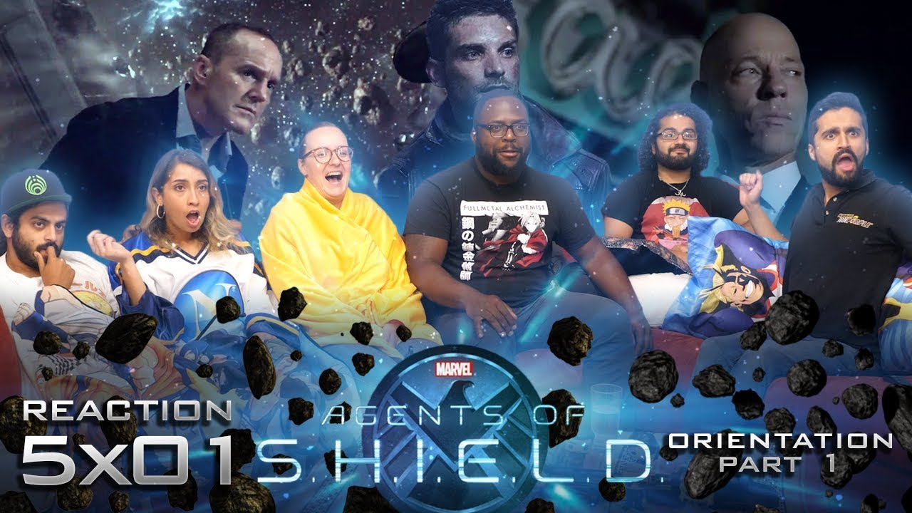 Download Agents of Shield - 5x1 Orientation Part 1 - Group Reaction