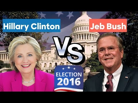 2016 Alternative History | Jeb Bush vs Hillary Clinton