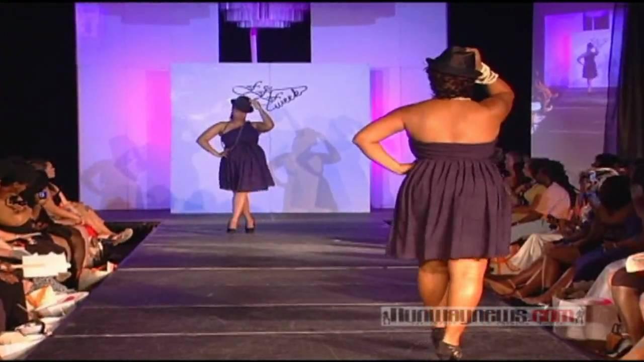 57292b3c302e4 Pheline showcases at Full Figured Fashion Week 2010 - YouTube