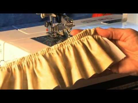 How To Use Janome Ultimate Ruffler Foot YouTube New Ultimate Sewing Machine