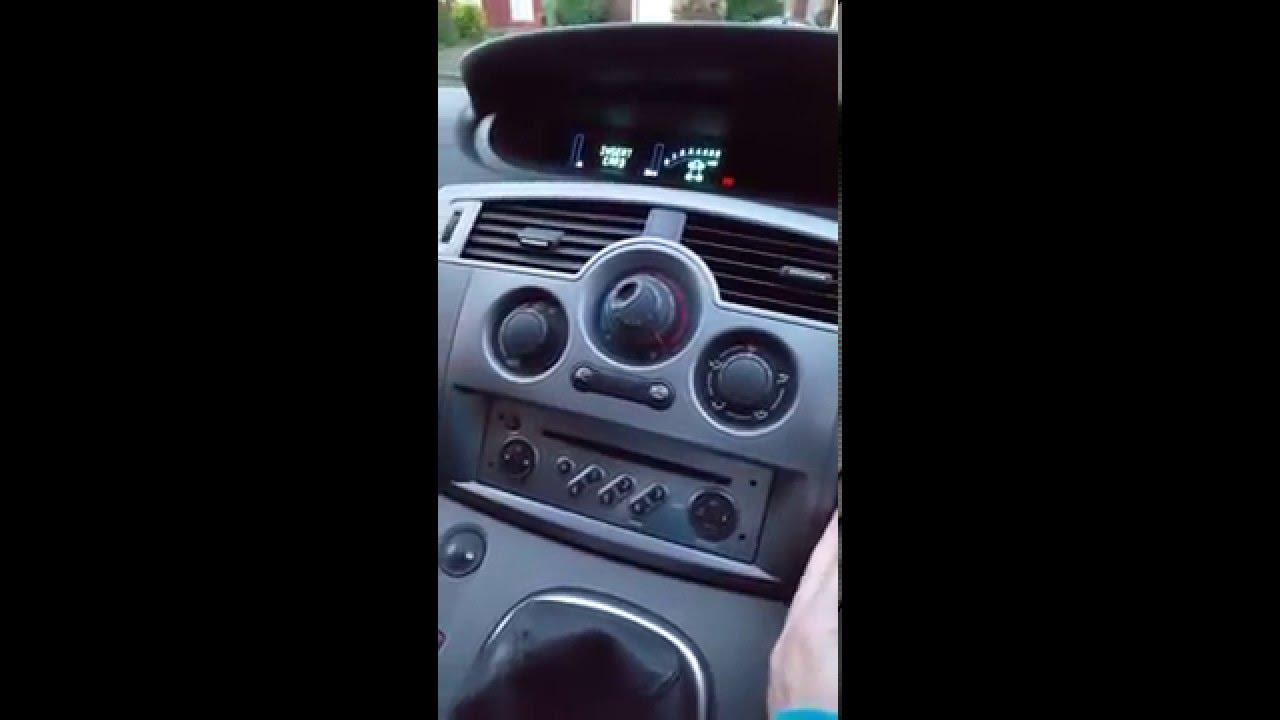 start renault scenic when key card not working simple free fix rh youtube com Renault Megane GT Renault Megane 2015