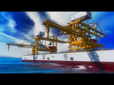 TIDFORE Offshore Engineering Equipment - Offshore Mobile Terminal For Ship To Ship Transfer