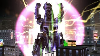 Godzilla: Destroy All Monsters Melee - All RAGE Attacks (XBOX)