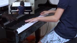 ドラマ『1リットルの涙』挿入歌、 2014年8月13日 録画、 使用楽譜;ピア...