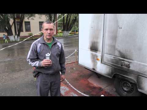 Поджог. Обращение Виктора Зверева к жителям г.Шахунья