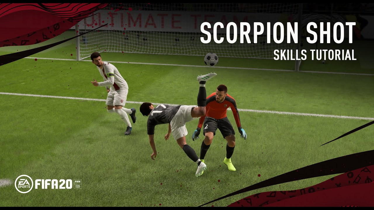 Fifa 20 Scorpion Kick Shot Skills Tutorial Youtube