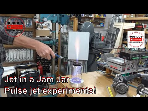 DuB-EnG: Jam Jar Jet Engine Water Heater Experiment and Demonstration