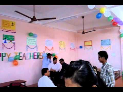 Teachers Day Decoration Cet Youtube