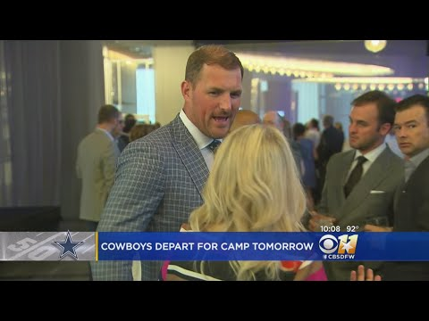 Jason Witten And Cowboys Packing Up For Training Camp