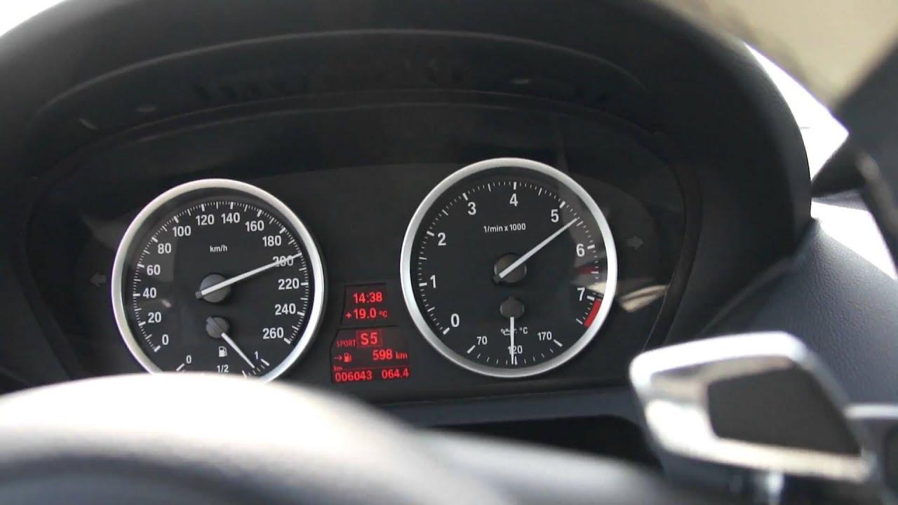BMW 630i Black Edition 0-220km/hr - YouTube