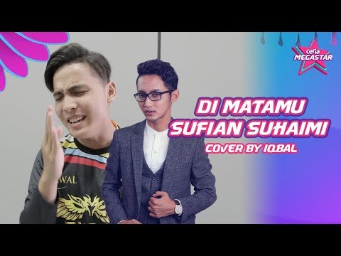 Iqbal try nak jadi macam Sufian Suhaimi cover lagu Di Matamu | #CoverCeriaMegastar
