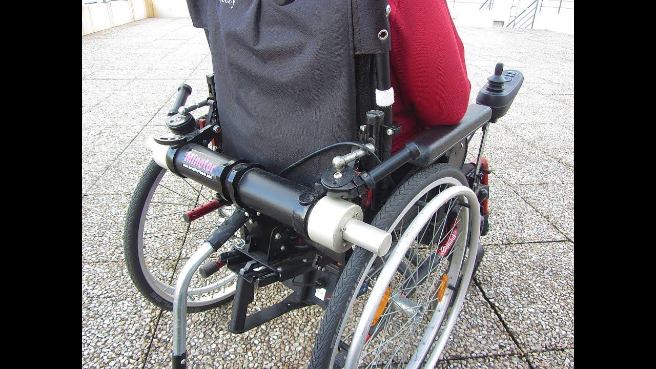 micheline teste le fauteuil roulant lectrique minotor youtube. Black Bedroom Furniture Sets. Home Design Ideas