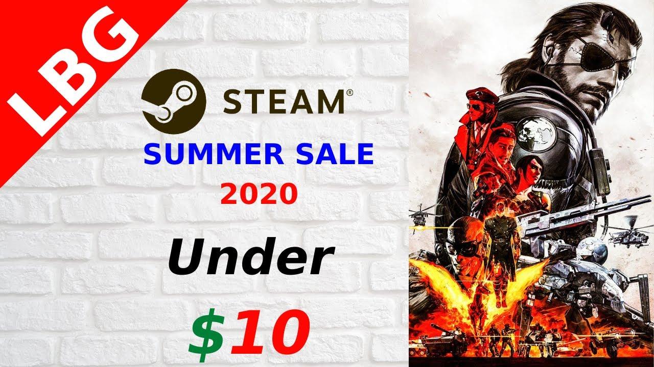 Steam Summer Sale 2020 - Best Games Under $10