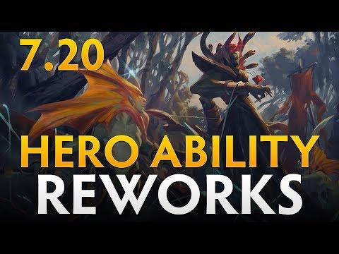 Dota 2 Patch 7.20 - Hero Ability Reworks