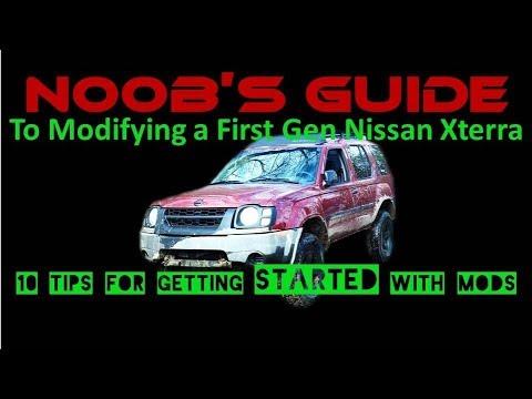 N00B's Guide to Modifying a First Gen Nissan Xterra