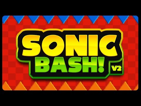 SONIC BASH V2 - Online Multiplayer Game! (4K/60fps) [Collab w/ redhotsonic]