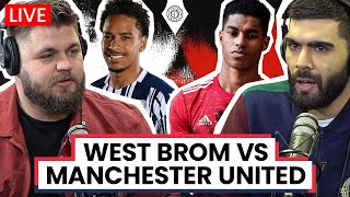 West Brom 1-1 Manchester United | LIVE Stream Watchalong
