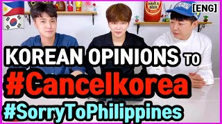 Koreans Opinion to #CancelKore…