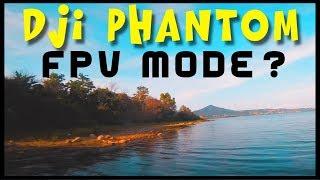 set DJI PHANTOM FPV acro mode = ON on my FPV Racer