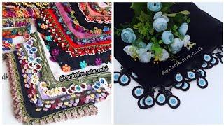 Şahane Tığ Oyası Modelleri / #crochet